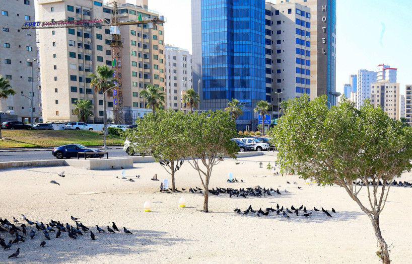 موج گرما در کویت