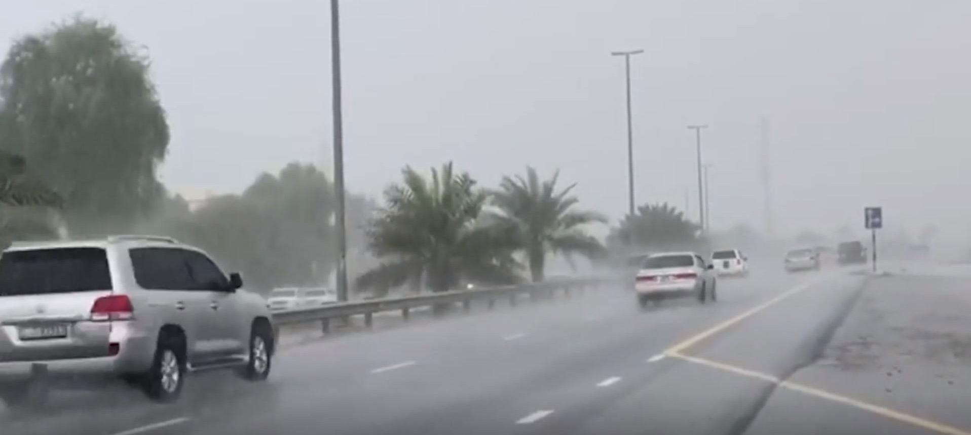 باران مصنوعی دبی